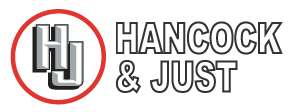 Hancock and Just. The truck wheel alignment specialists Logo